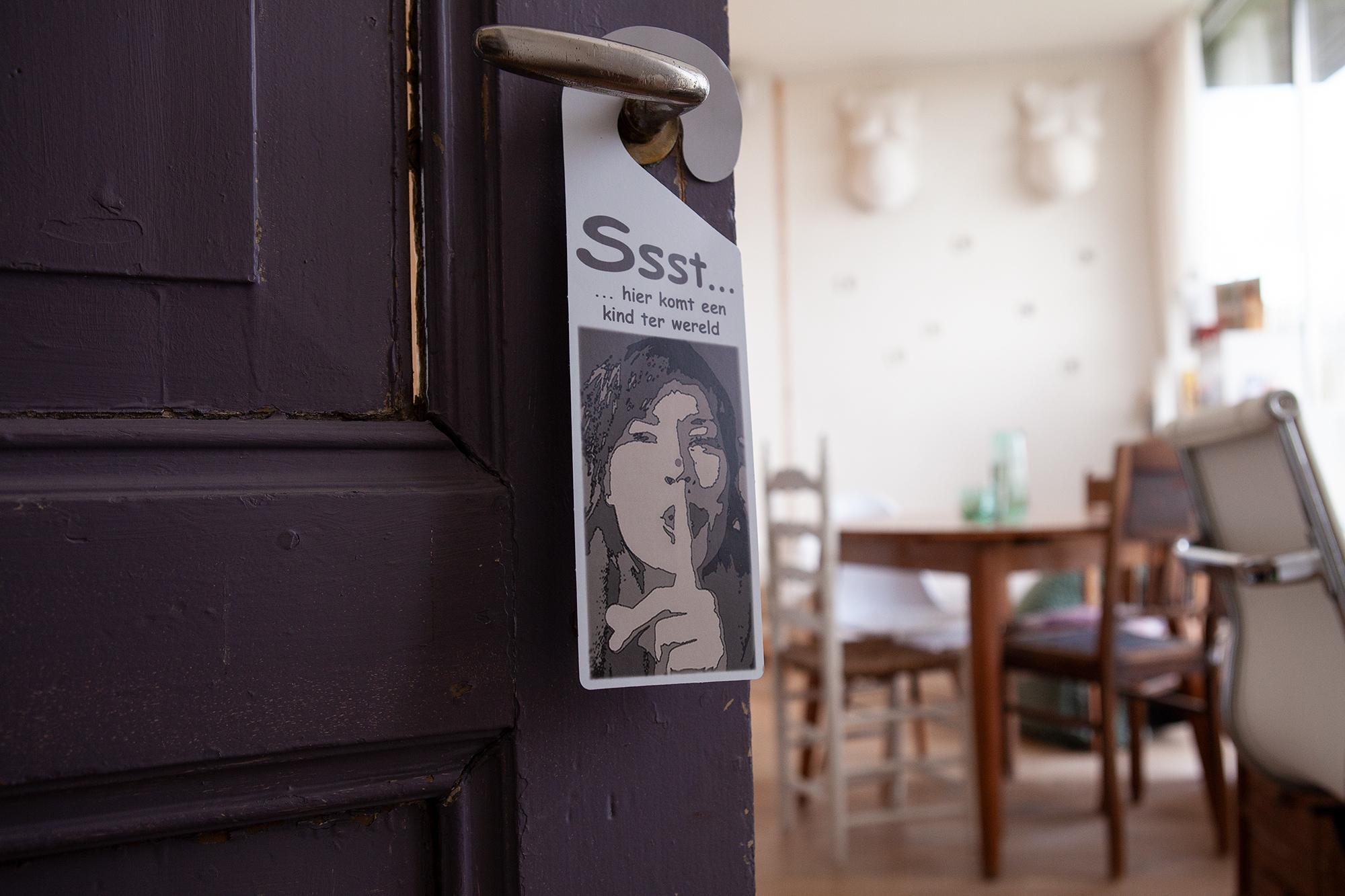 deuropening en een inkijkje in de praktijkruimte